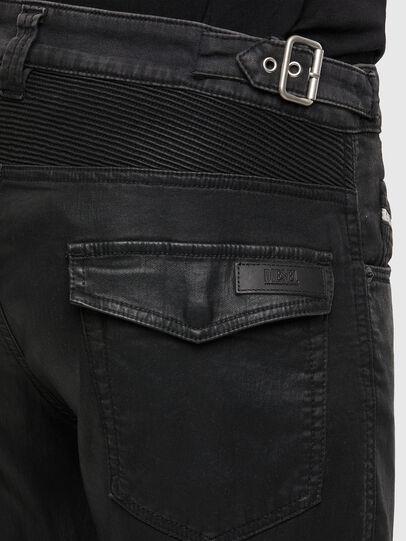 Diesel - D-Derrot JoggJeans® 069QY, Black/Dark grey - Jeans - Image 4