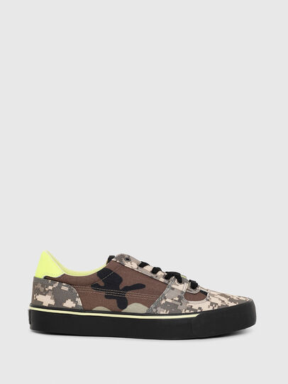 Diesel - S-FLIP LOW, Marron Military - Sneakers - Image 1