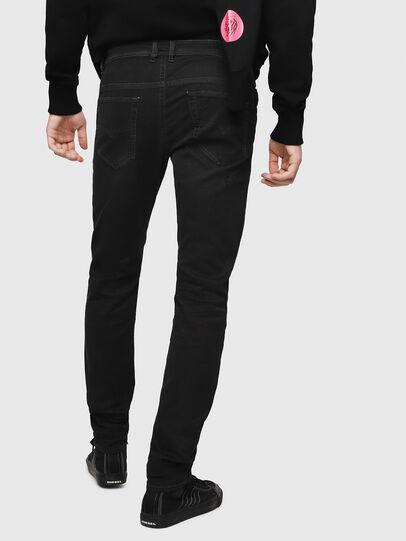 Diesel - Thommer JoggJeans 069FH, Black - Jeans - Image 2