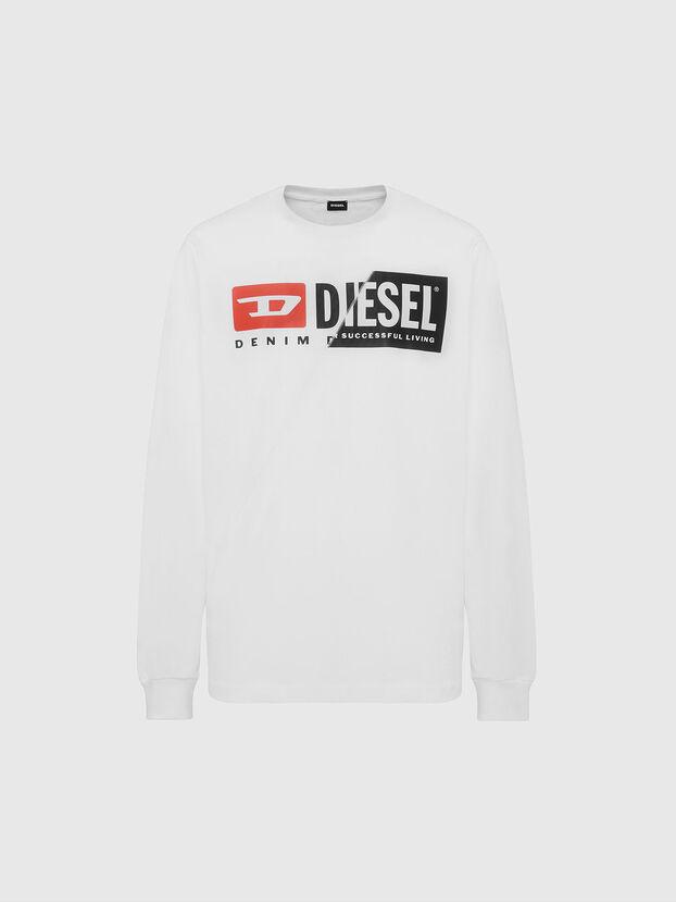 T-DIEGO-LS-CUTY, White - T-Shirts