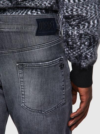 Diesel - D-Strukt JoggJeans® 009QT, Black/Dark grey - Jeans - Image 3
