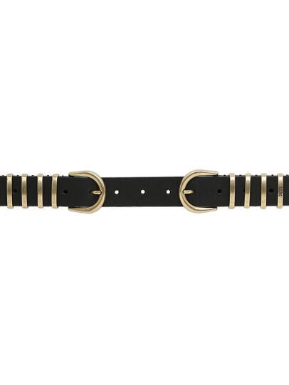 Diesel - B-STALLY, Black - Belts - Image 3
