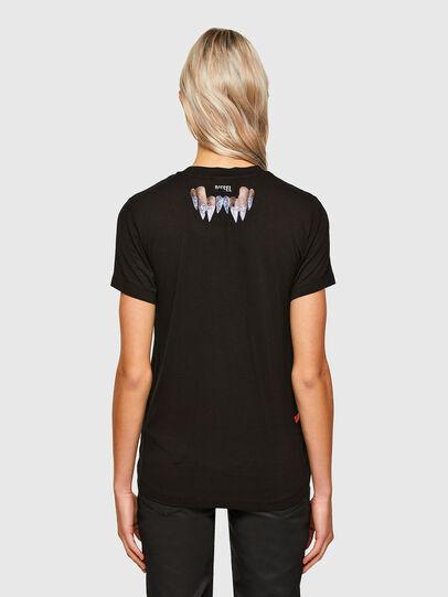 Diesel - T-SILY-R7, Black - T-Shirts - Image 2
