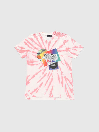 Diesel - TSILYTD, Pink/White - T-shirts and Tops - Image 1