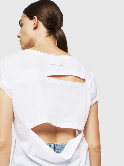 Diesel - T-DIMMY-A, White - Tops - Image 5