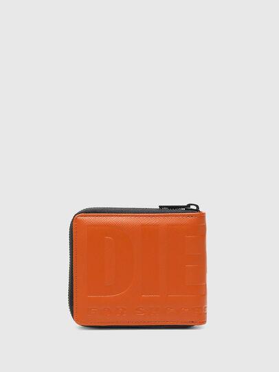 Diesel - HIRESH XS ZIPPI, Orange - Zip-Round Wallets - Image 2