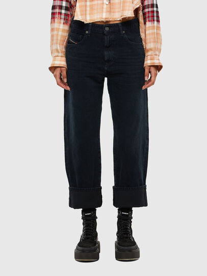 Diesel - D-Reggy 009IP, Dark Blue - Jeans - Image 1