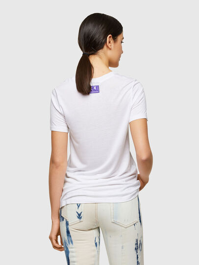 Diesel - T-SILY-A8, White - T-Shirts - Image 2