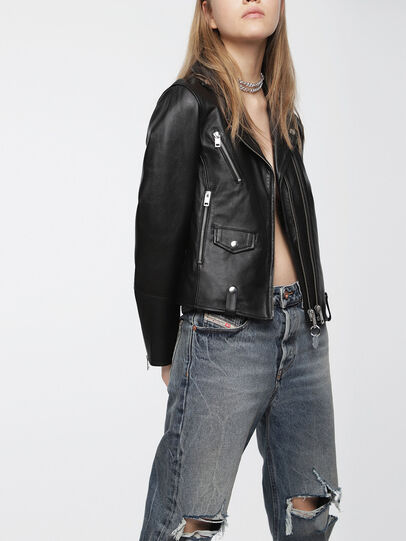 Diesel - L-LYF,  - Leather jackets - Image 3