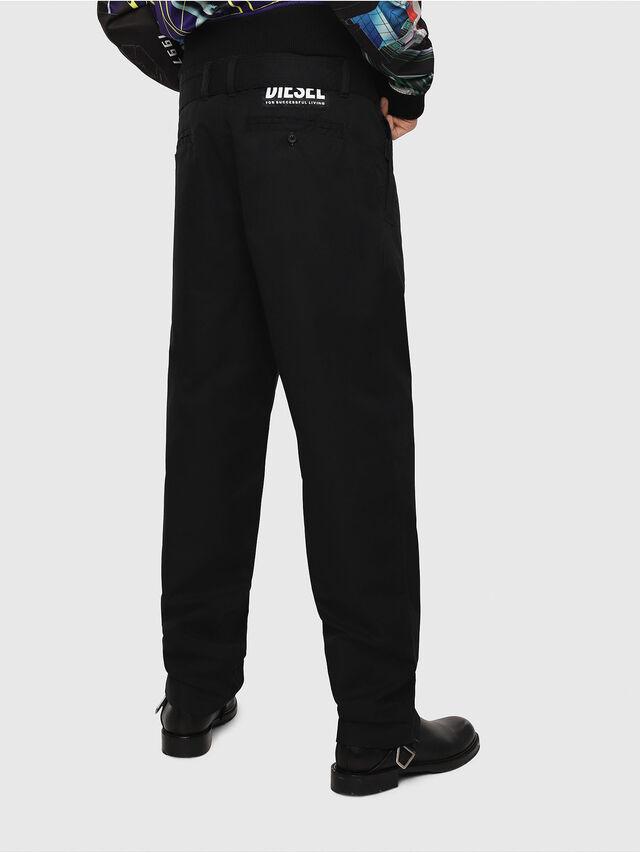 Diesel - P-TOSHI, Black - Pants - Image 2