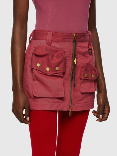 Diesel - O-IRAIDA, Pink - Skirts - Image 4