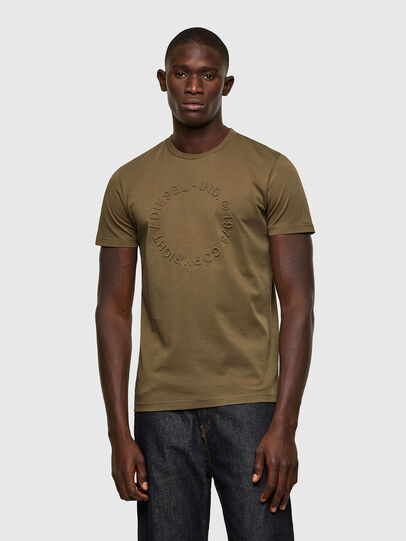 Diesel - T-DIEGOS-A2, Olive Green - T-Shirts - Image 1