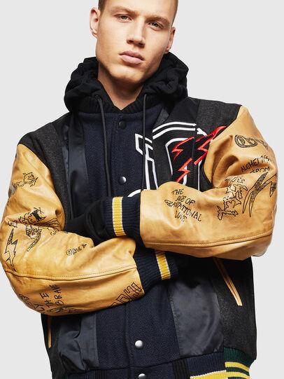 Diesel - L-ANTON,  - Leather jackets - Image 1