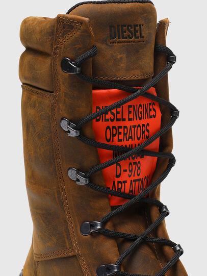 Diesel - H-WOODKUT BT, Brown - Boots - Image 6