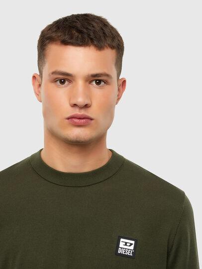 Diesel - K-FREEX-B, Military Green - Knitwear - Image 3