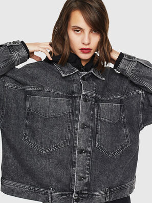 DE-JALA, Black/Dark grey - Denim Jackets