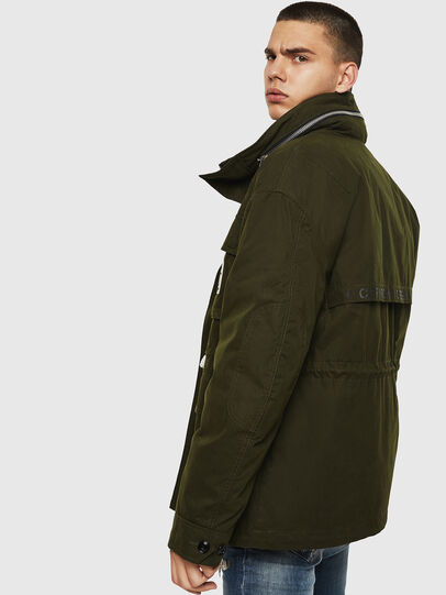 Diesel - J-TOUCHIN, Military Green - Jackets - Image 6
