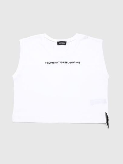Diesel - TFELIX, White - T-shirts and Tops - Image 1