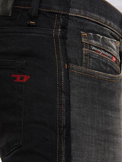 Diesel - D-Strukt 009HY, Black/Dark grey - Jeans - Image 5