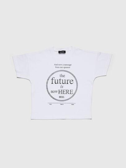 Diesel - TARTIB-R, White - T-shirts and Tops - Image 1