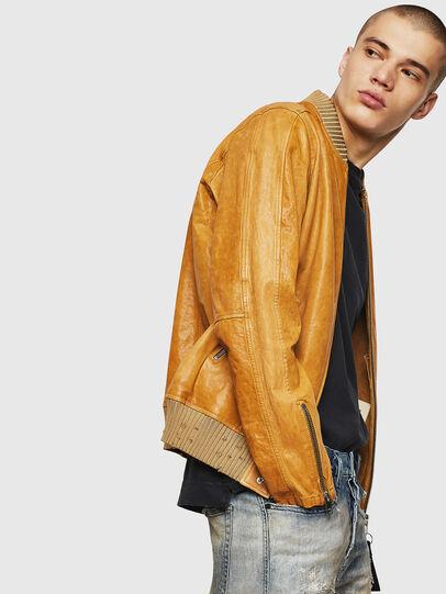 Diesel - L-DAVIDOV,  - Leather jackets - Image 3