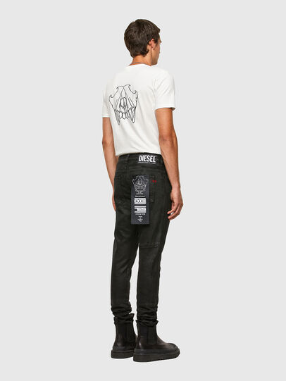 Diesel - T-INY, White - T-Shirts - Image 5