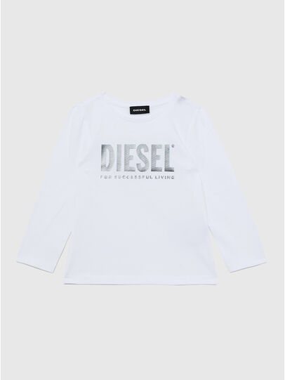 Diesel - TRASSYB-R, White - T-shirts and Tops - Image 1