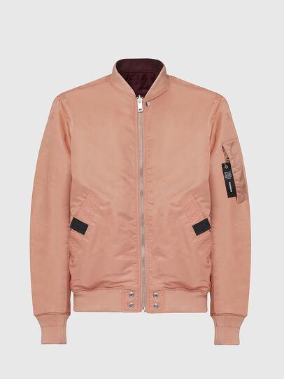 Diesel - J-ROSS-REV, Pink - Jackets - Image 1