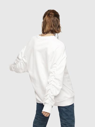 Diesel - F-ARAP, White - Sweaters - Image 2