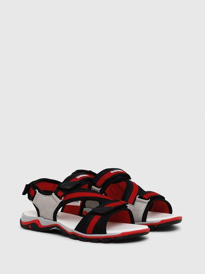 Diesel - SA 07 STRIPE YO, Grey/Red - Footwear - Image 2