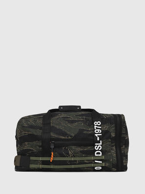 M-CAGE DUFFLE M, Black/Green - Travel Bags