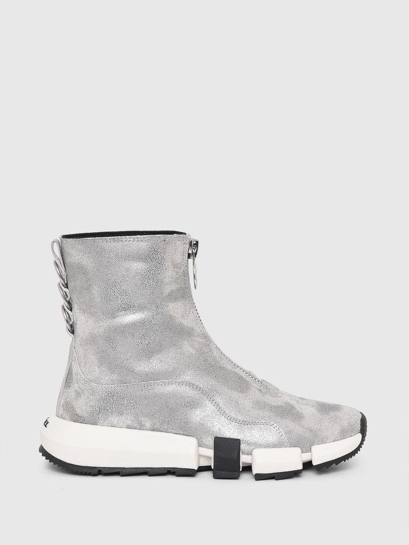 Diesel - H-PADOLA Z PC W, Silver - Sneakers - Image 1