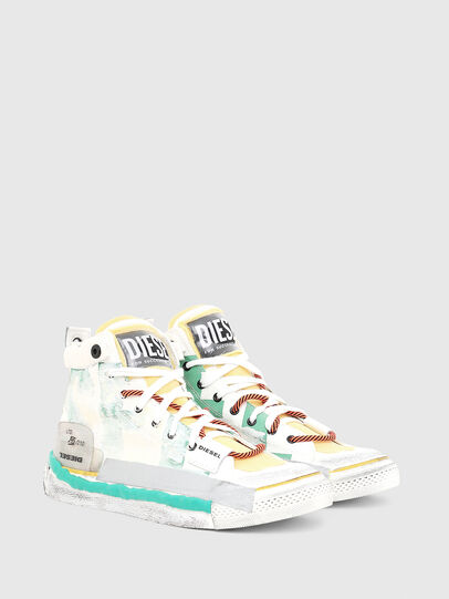 Diesel - S-ASTICO PNT, White - Sneakers - Image 2