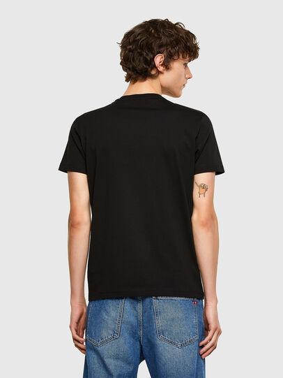 Diesel - T-DIEGOS-E32, Black - T-Shirts - Image 2
