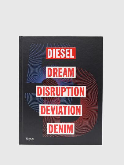Diesel - 5D Diesel Dream Disruption Deviation Denim, Black - Books - Image 3