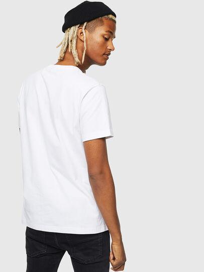 Diesel - T-DIEGO-J25, White - T-Shirts - Image 2
