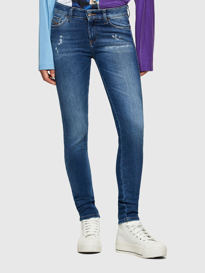 Diesel - Slandy 009PU, Medium blue - Jeans - Image 1
