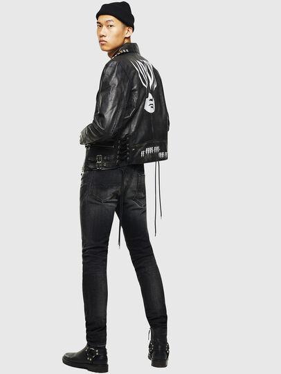 Diesel - L-GOTIV-A, Black - Leather jackets - Image 7