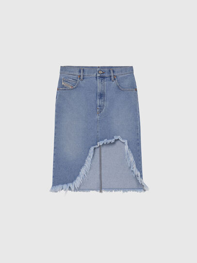 Diesel - DE-ELLYOT, Light Blue - Skirts - Image 1