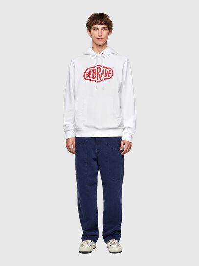 Diesel - S-GIRK-HOOD-K11, White - Sweaters - Image 4