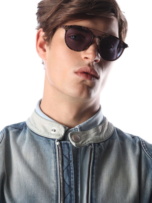 Diesel - DM0188, Brown - Sunglasses - Image 5