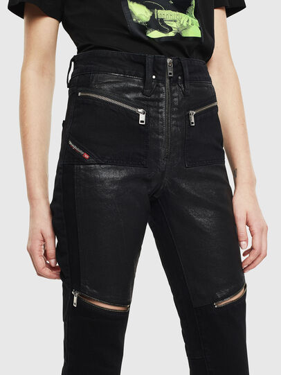 Diesel - DE-EARLIE, Black - Pants - Image 5