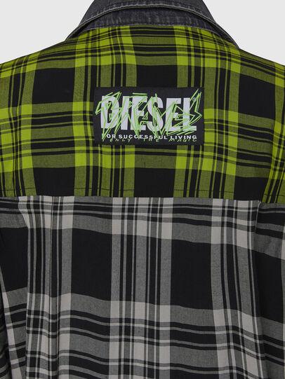 Diesel - D-NIAVY, Black/White - Dresses - Image 6
