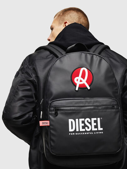 Diesel - LR-F-DISCOVER BACK N, Black - Backpacks - Image 7