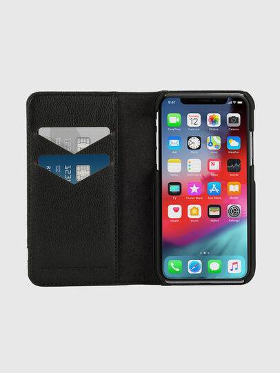 Diesel - DIESEL 2-IN-1 FOLIO CASE FOR IPHONE XS & IPHONE X, Grey - Flip covers - Image 7