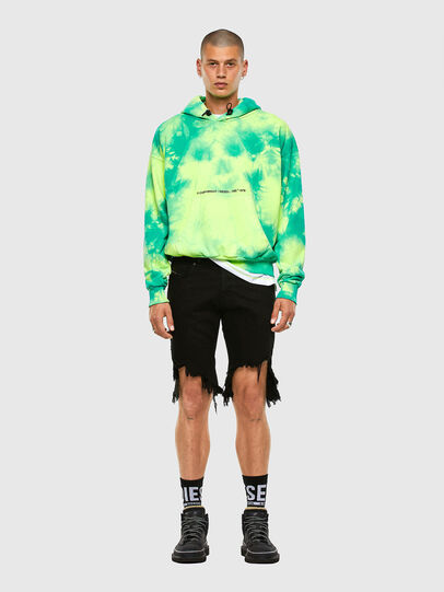 Diesel - S-ALBYEL-X4, Green/Yellow - Sweaters - Image 4