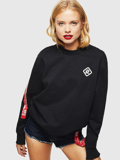 Diesel - CC-S-BAY-COLA, Black - Sweaters - Image 2
