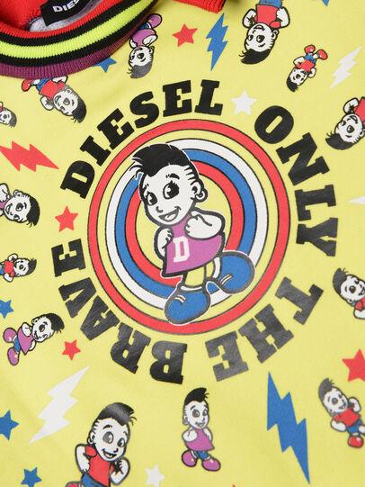 Diesel - DISSAB, Black/Yellow - Dresses - Image 3