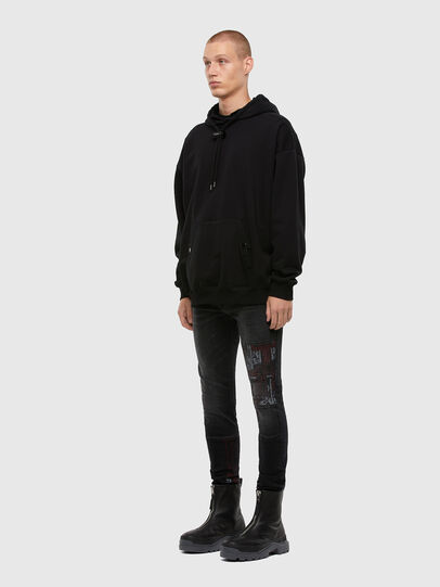 Diesel - D-Amny 009KS, Black/Dark grey - Jeans - Image 7