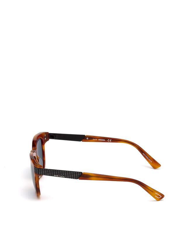 Diesel - DL0237, Light Brown - Eyewear - Image 3